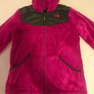 The North Face Fleece zipped hoodie